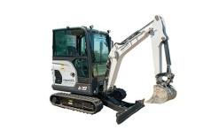 System for zero emission excavator